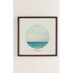 Tina Crespo Salt Water Cure Art Print - Brown 16X16 at Urban Outfitters