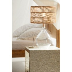 Teardrop Glass Table Lamp - Clear at Urban Outfitters