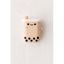 Smoko Boba Tea AirPods Case - Beige at Urban Outfitters