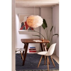 UMAGE Eos Large Pendant Light - White 2 at Urban Outfitters