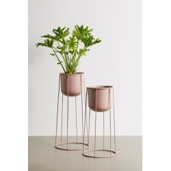 Celeste Planter And Stand - Pink S at Urban Outfitters