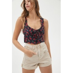 Motel Glarina Lace-Up Cami found on MODAPINS from Urban Outfitters (US) for USD $44.00