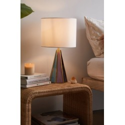 Gabriella Stained Glass Table Lamp - Blue at Urban Outfitters