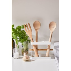 Metal Utensil Stand - White at Urban Outfitters