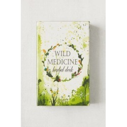 Tamed Wild Wild Medicine Herbal Card Deck - Grey at Urban Outfitters