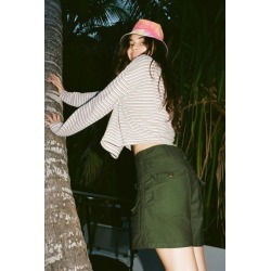 Urban Renewal Vintage Washed Surplus Short - Green L at Urban Outfitters