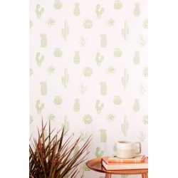 Cactus Icon Removable Wallpaper found on Bargain Bro Philippines from Urban Outfitters (US) for $49.00