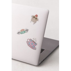 Friends Gadget Decal Set found on Bargain Bro India from Urban Outfitters (US) for $7.95