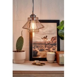 Blondelle Caged Pendant Light - Bronze at Urban Outfitters
