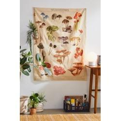Mushroom Chart Tapestry