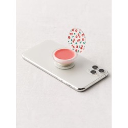 PopSockets PopGrip Lip Balm Swappable Phone Stand - Red at Urban Outfitters