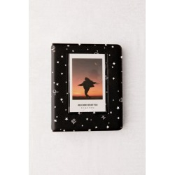 Instax Patterned Photo Album - Black at Urban Outfitters