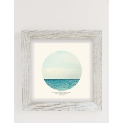 Tina Crespo Salt Water Cure Art Print - Beige 44X44 at Urban Outfitters