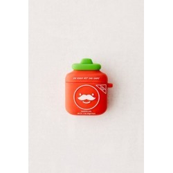 Smoko Sir Rogers AirPods Case - Red at Urban Outfitters