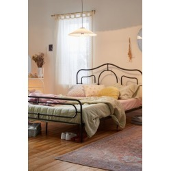 Aria Metal Bed - Black Queen at Urban Outfitters