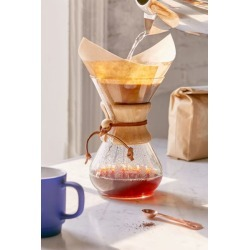Chemex 6-Cup Pour Over Coffee Maker - Clear at Urban Outfitters