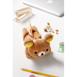 Rilakkuma Pencil Case - Yellow at Urban Outfitters