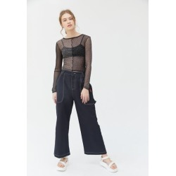 Lazy Oaf Picking Roses Work Pant found on MODAPINS from Urban Outfitters (US) for USD $49.99