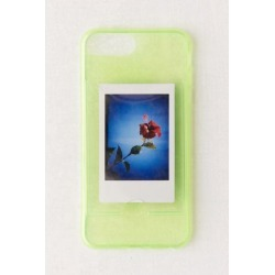 Neon Instax Mini Picture Frame iPhone Case - Green S at Urban Outfitters