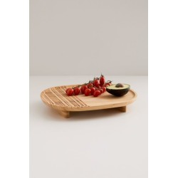Sadler Embossed Serving Tray found on Bargain Bro Philippines from Urban Outfitters (US) for $24.00