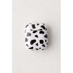 Cow Hard Shell AirPods Case - Black at Urban Outfitters