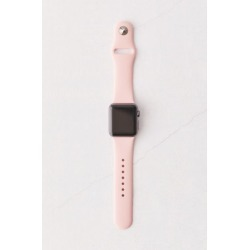 Silicone Apple Watch Strap - Pink S at Urban Outfitters