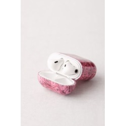 Printed Hard Shell AirPods Case - Pink at Urban Outfitters