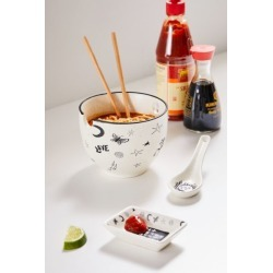 Noodle Set - Black at Urban Outfitters