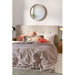 Midway Headboard - Beige Queen at Urban Outfitters