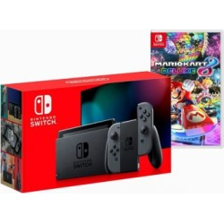 Nintendo Switch Console And Mario Kart 8 Deluxe Bundle - Grey at Urban Outfitters