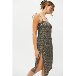 Motel Lotie Tie-Shoulder Midi Dress found on MODAPINS from Urban Outfitters (US) for USD $69.00