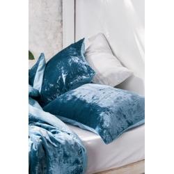 Skye Velvet Sham Set - Blue at Urban Outfitters