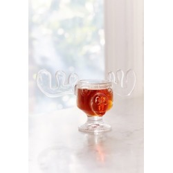 Marty Moose 4 oz Glass Mug - Clear at Urban Outfitters