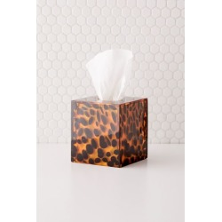 Ansel Tissue Box Cover - Brown at Urban Outfitters