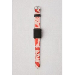 Casetify Red Abstract Apple Watch Strap - Red S at Urban Outfitters