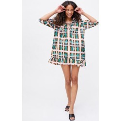 Glamorous Orchid Plaid Smock Mini Dress found on MODAPINS from Urban Outfitters (US) for USD $89.00