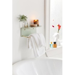 Corin Bathroom Wall Shelf - Mint at Urban Outfitters