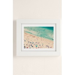Ingrid Beddoes Summer Fun Art Print - White 18X24 at Urban Outfitters found on Bargain Bro Philippines from Urban Outfitters (US) for $89.00