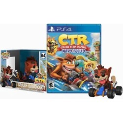 PlayStation 4 Crash Team Racing Video Game And Funko Pop! Figure Bundle - Assorted at Urban Outfitters