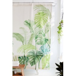 Watercolor Tropical Shower Curtain found on Bargain Bro Philippines from Urban Outfitters (US) for $49.00