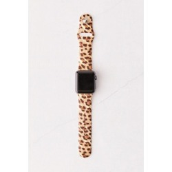 Silicone Apple Watch Strap - Brown S at Urban Outfitters