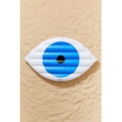 Working Girls Eye Pool Float - Blue at Urban Outfitters