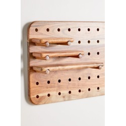 Carla Pegboard Shelf - Brown S at Urban Outfitters