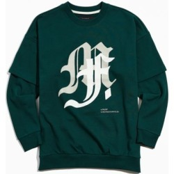 Tee Library M F Crew Neck Sweatshirt found on Bargain Bro India from Urban Outfitters (US) for $130.00