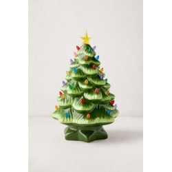 Light-Up LED Nostalgia Christmas Tree - Green at Urban Outfitters