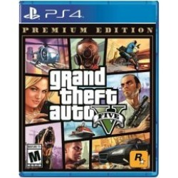 PlayStation 4 Grand Theft Auto V: Premium Online Edition Video Game - Assorted ALL at Urban Outfitters