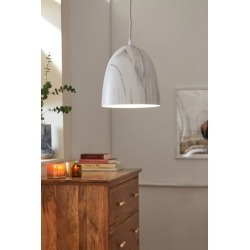 Marble Dome Pendant Light - Grey at Urban Outfitters