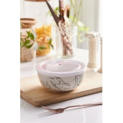 UO Lunch Bowl - White at Urban Outfitters found on Bargain Bro India from Urban Outfitters (US) for $10.00