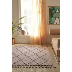 Washable Berber Rug - Purple 5 X 7 at Urban Outfitters found on Bargain Bro India from Urban Outfitters (US) for $299.99