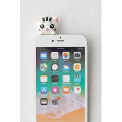 Zorbitz Inc. Phone Palz Animal Charm - White at Urban Outfitters